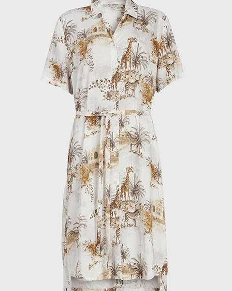 Viacfarebné šaty AllSaints