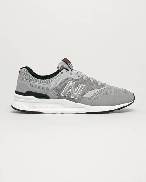 Sivé topánky New Balance