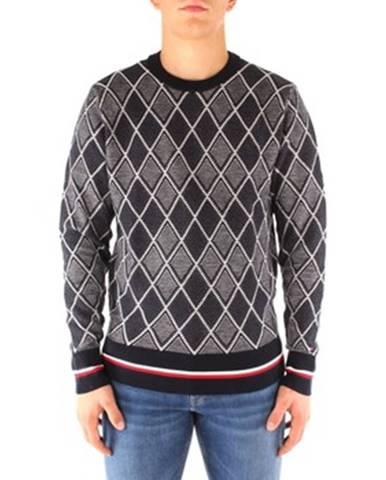 Modrý sveter Tommy Hilfiger