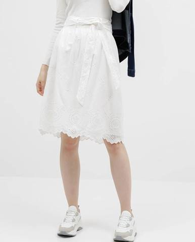 Biela sukňa Only