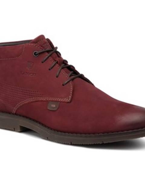 Červené topánky Lasocki for men